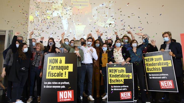 Linke feiert bei Kinderabzügen wuchtigen Sieg– und warnt:«Es gibt keine Steuerreform ohne die SP»
