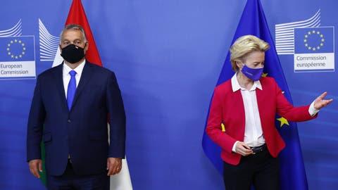 Streit um die Rechtstaatlichkeit spitzt sich zu: Viktor Orban auf Kollisionskurs mit der EU
