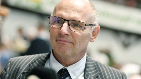 Der Zürcher Nationalrat Alfred Heer will Präsident der SVP Schweiz werden