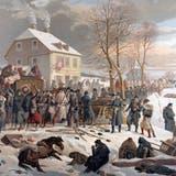 Im Jahre 1871 fluteten sie über die Jurapässe: Als der Aargau 8800 Bourbaki-Soldaten aufnahm