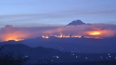 Der Kilimandscharo brennt: Bergsteiger fliehen vor den Flammen - darunter auch einige Schweizer