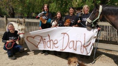 Zoo Hasel ist gerettet – überwältigendes Echo nach Hilferuf
