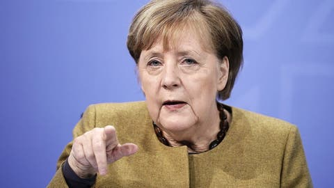 Angela Merkel ist über die Virusmutation besorgt – sogar Ausgangssperren sind nun Thema
