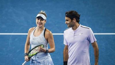 Belinda Bencic: «Ich möchte nicht so leben, wie es Roger Federer muss»