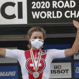 Seit 2017 fährt Marlen Reusser Radrennen, nun holt sie an der WM die Silbermedaille
