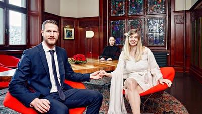 Ihre Hochzeit in Thun wurde wegen Corona abgesagt – also heiraten sie in Zürich: Die Liebe ist stärker als das Virus