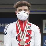 Hauchdünnes Bronze-Glück für Marc Hirschi am WM-Strassenrennen von Imola