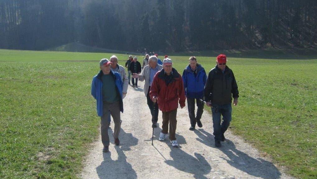 Märzwanderung der Wandersleut vom Oberdorf