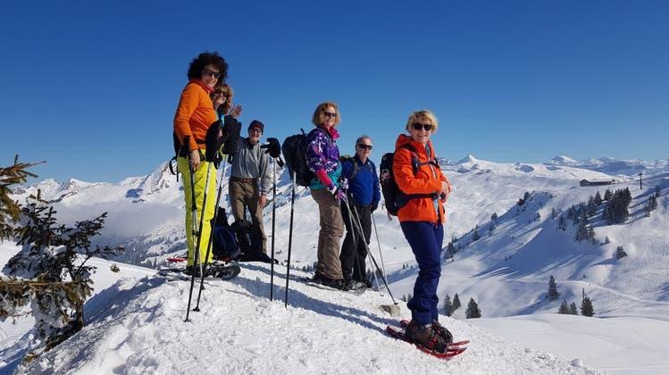 TGZ Schneeschuhwanderung vom 6. März 2021