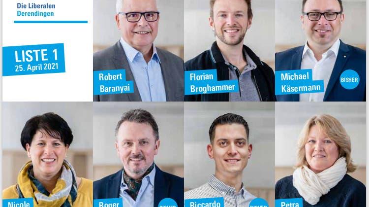 FDP Derendingen: Nomination Gemeinderatswahlen