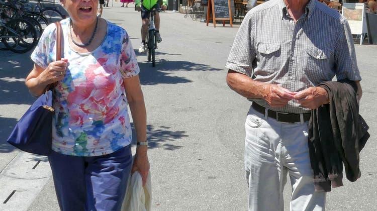 Jung gebliebene Wettinger feiern ihren 85. Geburtstag