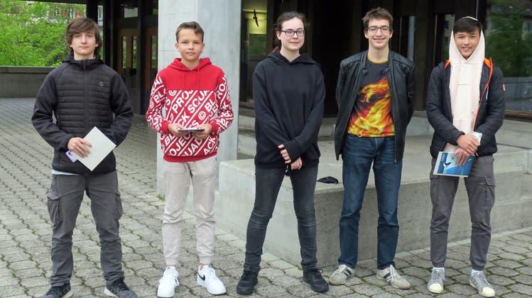 Bezirksschule Brugg macht am Känguru-Wettbewerb mit