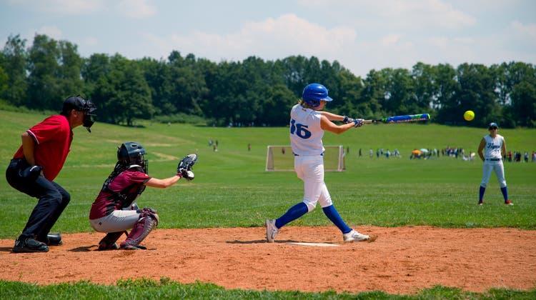 Entdecke Softball für dich – kommt ins Training