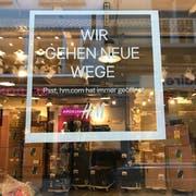 H&M geht neue Wege, weg aus der Luzerner Altstadt. (Bild: Sarah Meyer (4. Januar 2019))