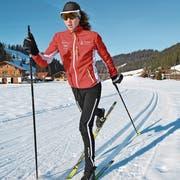 Selina Haas kann nach dem Postauto-Unfall wieder trainieren. (Bild: Brigitte Haas (Marbach, 25. Januar 2019)