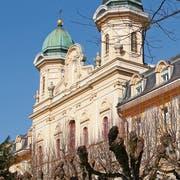 Die Kantonsschule Kollegium Schwyz. (Bild: Ruggero Vercellone)
