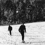 Auf dieser Karte aus dem Jahr 1972 sind die Skilifte bei der Fräkmünt und Mülimäs braun eingezeichnet. (Quelle: Geoportal des Bundes)