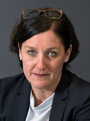 SHL-Direktorin Christa Augsburger. (Bild: Corinne Glanzmann (Luzern, 19. Februar 2018))