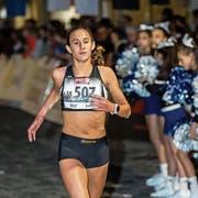Valentina Rosamilia will den Sieg bei den U18 wiederholen. (Bild: Philipp Schmidli)