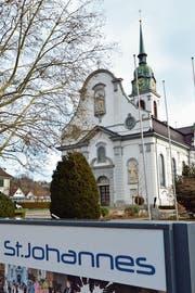 Die Katholische Kirche St.Johannes in Weinfelden. (Bild: Reto Martin (Juni 2018))