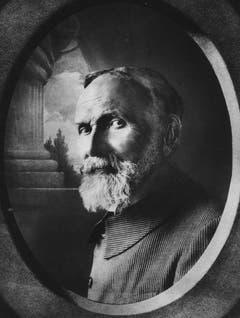 Porträt von Carl Spitteler mit 71 Jahren. (Bild: Nachlass Carl Spitteler, Schweizerisches Literaturarchiv, Bern)