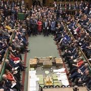 Überfordert, machtlos, verängstigt: Das Unterhaus in London. (Bild: ap/uk parliament)
