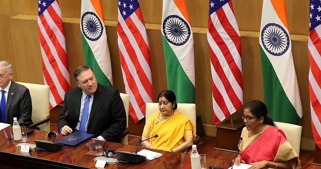 USA und Indien unterzeichnen Verteidigungspakt
