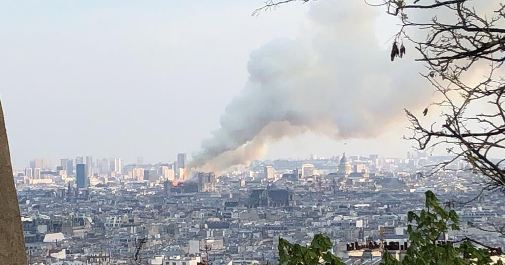 «Es wurden Erinnerungen an die Terroranschläge geweckt»: Wie ein St.Galler den Brand der Notre-Dame erlebt hat