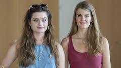Mia Jenni und Ronja Jansen. (Bild: KEY)