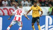 «Ich freue mich extrem darauf» - trotz Aussenseiterrolle kann YB-Spieler Saidy Janko das Duell gegen den FC Porto kaum erwarten. (Bild: Keystone)