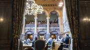 National- Stände- und Bundesrat tagten vier Jahre lang. Aber wie zufrieden sind Sie? (Symbolbild, Blick in den Ständeratssaal) (Bild: keystone)
