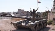 Eine angebliche Feuerpause in Syrien bezeichnet unser Korrespondent Thomas Seibert als «Etikettenschwindel». (Bild: KEYSTONE/EPA/STR)