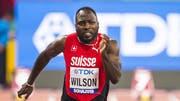 Alex Wilson konnte in Doha nicht wie erhofft auftrumpfen. Für das mit seiner Breite beeindruckende Team von Swiss Athletics war das kein Problem. (Bild: KEYSTONE/JEAN-CHRISTOPHE BOTT)