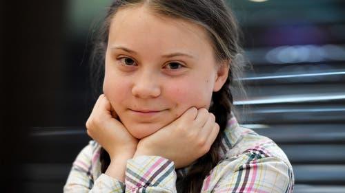 Greta Thunberg (Bild: Keystone)