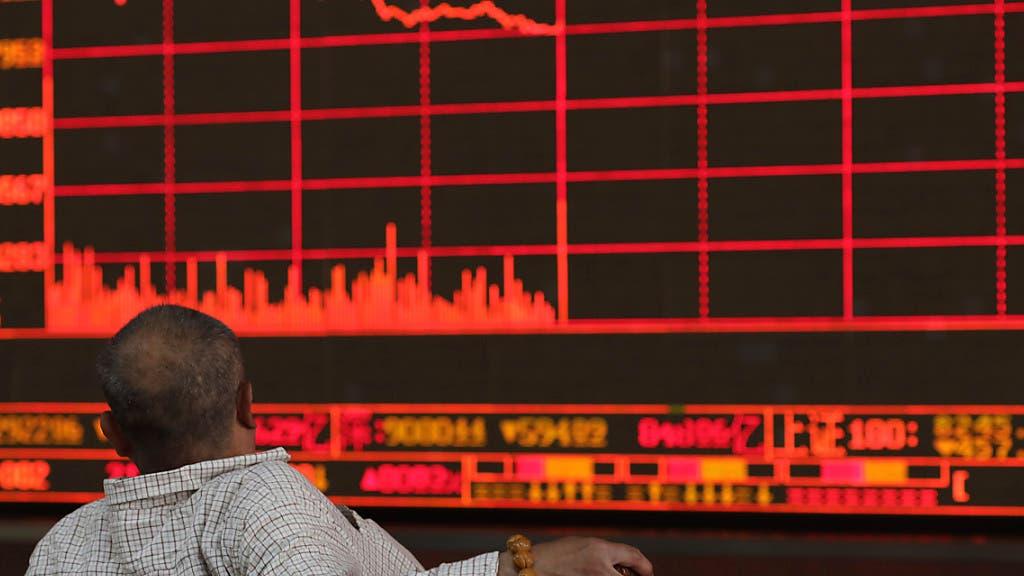 china aktien unter druck