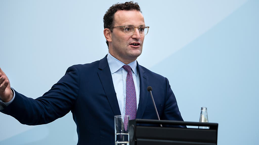 Pressekonferenz Jens Spahn