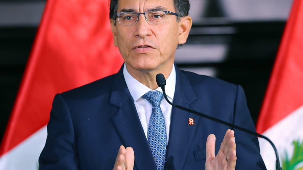 Peru verhängt Ausnahmezustand über Gebiet an Grenze zu Kolumbien