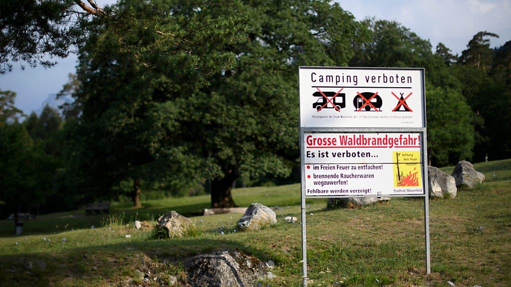Feuerverbot nun auch in der Zentralschweiz und in ...