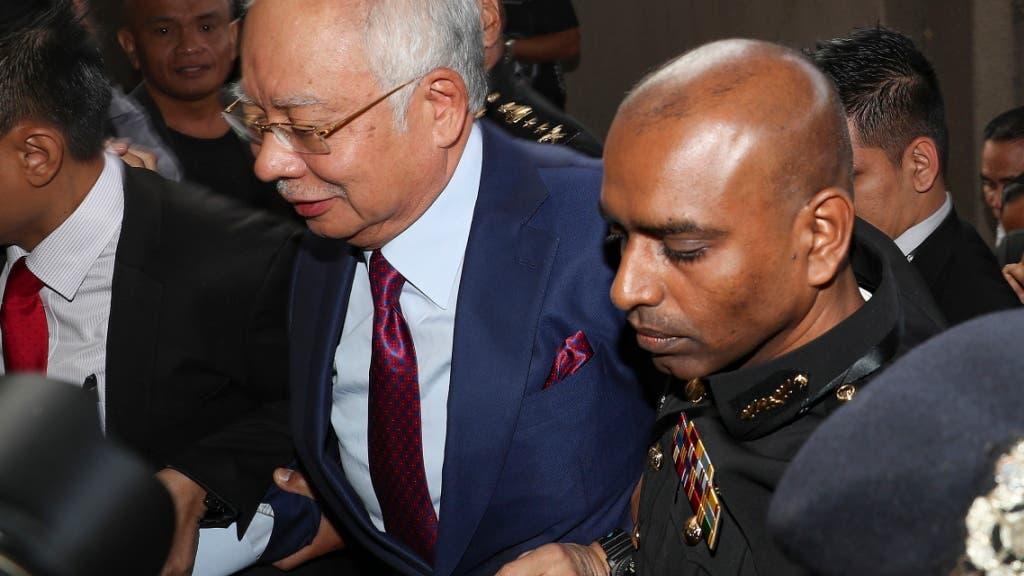 Malaysias Ex-Regierungschef Najib Razak angeklagt