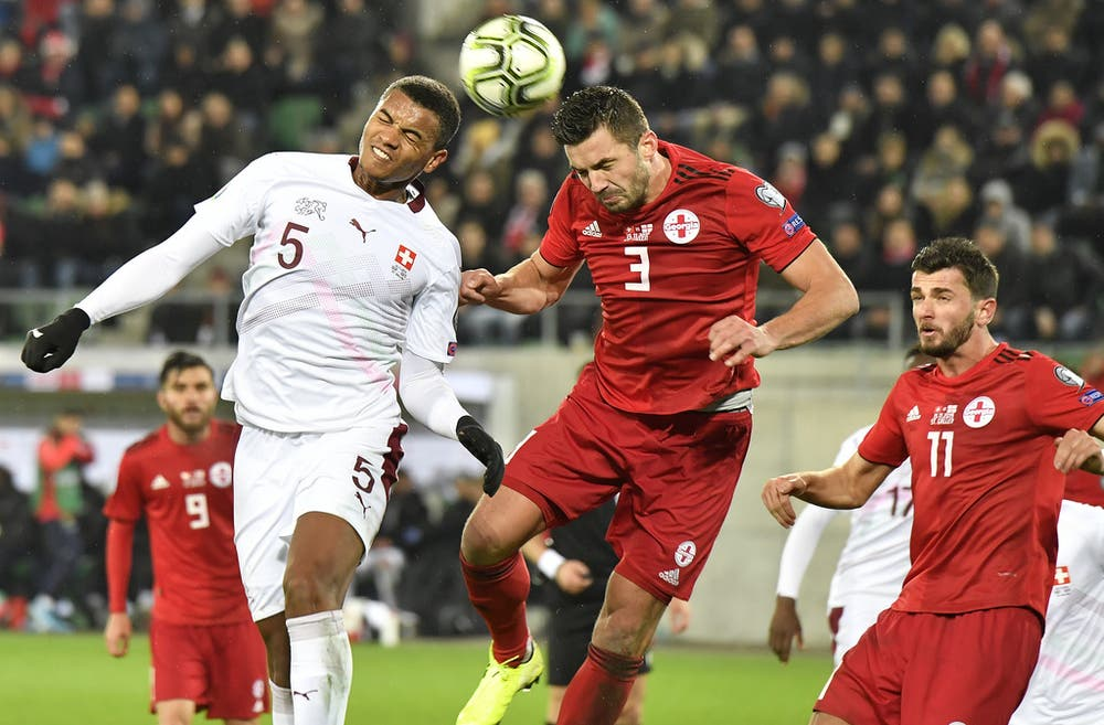 Dank Debütant Cedric Itten: Die Schweiz schlägt Georgien ganz knapp mit 1:0 und steht vor der EM-Quali   St.Galler Tagblatt