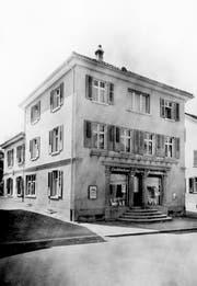 Das Haus nach dem Ausbau zwischen 1931 und 1934. (Bild: PD)
