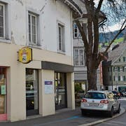Das Café Pic an der Poststrasse. Links davon war früher ein Bäckereiladen. (Bild: Franziska Herger, Sarnen, 19. März 2019)