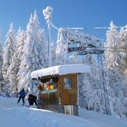 Die Verhältnisse wären perfekt, doch wegen eines Motorenschadens steht der Skilift Tanzboden in Ebnat-Kappel still. (Bild: PD)