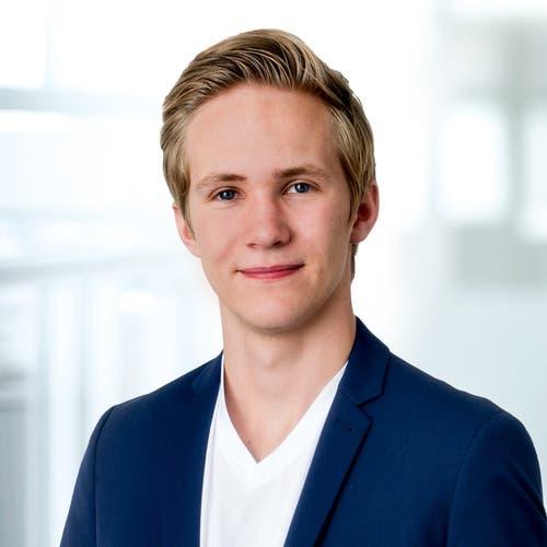 Nico Fischer, Einsiedeln, Schüler, 2000. Motivation: «Mein Ziel ist es, ein Bewusstsein für den Klimawandel auch in der Politik zu verankern. Auch sollte die Gleichberechtigung auf allen Ebenen ausgebaut werden.»