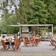Die Buvette «Beach-Bar» in der Luzerner Ufschötti. (Bild: PD)
