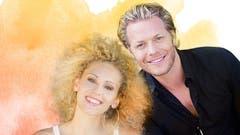 Traten beim Konzert «Musicalstars for Charity» in der Tonhalle St.Gallen auf: Sabrina Weckerlin und Mark Seibert, Superstars des deutschsprachigen Musicals. (Bild: PD)