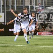 Filip Stojilkovic sorgte zum dritten Mal diese Saison für das 1:0. (Bild: Gianluca Lombardi)