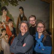 Initiantin Karin Bucher, Regisseur Hans-Christian Hasselmann und Regisseurin Katrin Sauter. (Bild: PD)