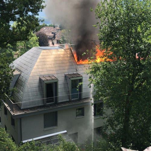 (Bild: Feuerwehr Luzern)