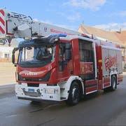 Das Märstetter Unikat vereint die Eigenschaften zweier Feuerwehrautos. (Bild: PD/BRK News)